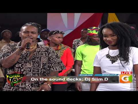 ONE LOVE  SHOW CITIZEN TV -DJ SLIM D
