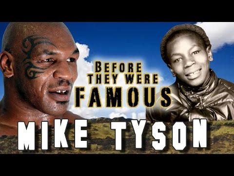 MIKE TYSON - Before They Were Famous