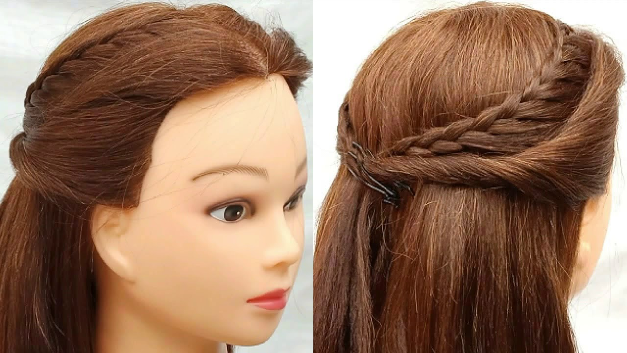 Unique & Quick hairstyle for 10Easy hairstyle for kurtijeansgownopen  hair  #New hairstyles
