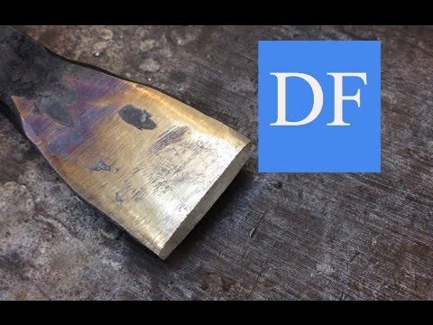 Blacksmithing for beginners - Spoon Damascus