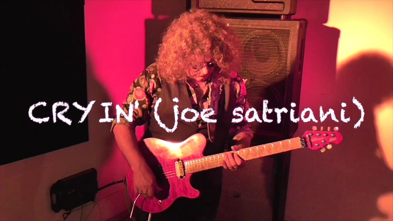 how to play cryin joe satriani