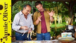 Bolognese Ravioli | Jamie & Gennaro | Jamie's Comfort Food (2014)