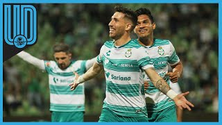 No tuvo rival Santos Laguna. El equipo de la Comarca tuvo una noche tranquila al golear 5-0 a los Gallos Blancos de Querétaro