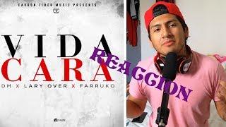 vuclip DM, FARRUKO & LARY OVER - VIDA CARA (OFFICIAL VIDEO) - VIDA CARA REACCION
