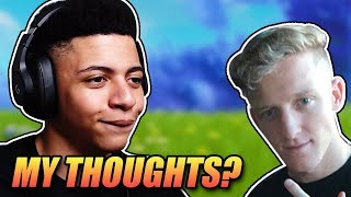 MYTHS OPINION ON TFUE GETTING BANNED! - Fortnite Battle Royale