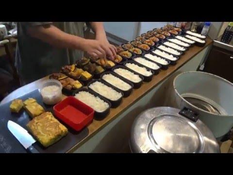 【弁当】新シリーズ!弁当をたくさん作るぞ!その2【BENTO】I will make lots of boxed lunches! #02