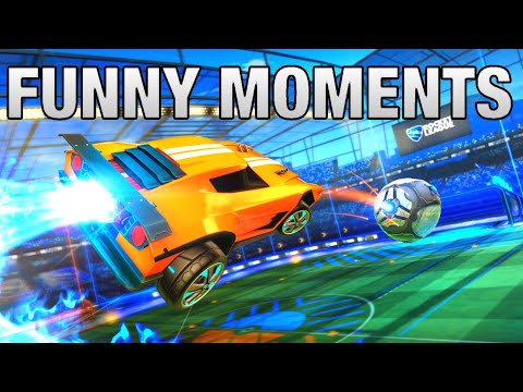 I BEAT EKEZ ROCKET LEAGUE FUNNY MOMENTS AND INSANE GOALS