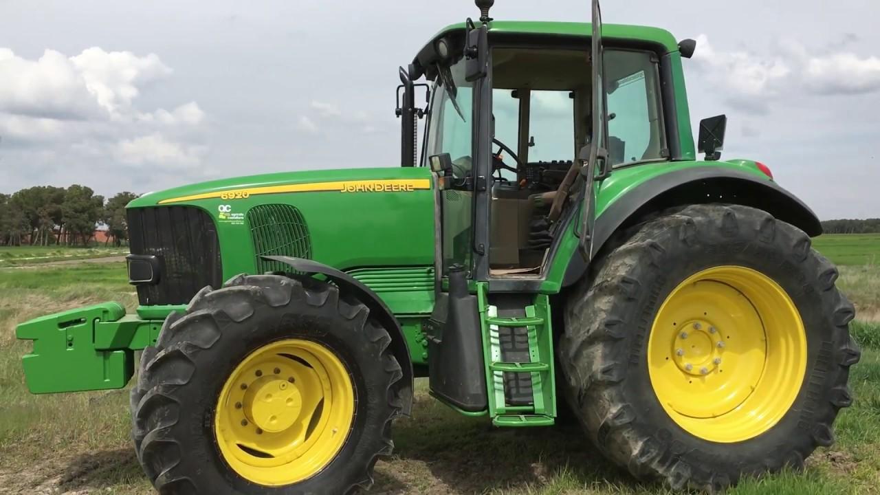 Top John Deere 6920 tractor Sound + Technical data - YouTube @AO_02