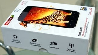 Karbonn a111 unboxing and review