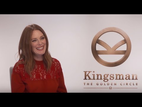 Julianne Moore Reveals Secret KINGSMAN: THE GOLDEN CIRCLE Character