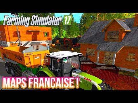 ENCORE UNE MAPS FRANÇAISE ! (FARMING SIMULATOR 17 LIVE)