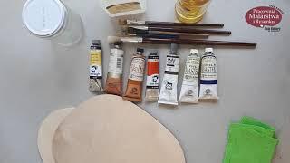 Malowanie farbami olejnymi. Odc.1