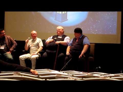 Chicago TARDIS 2012 Spaull, Fisher-Becker, McNeice clip 3