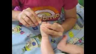 видео как правильно обрезать ногти