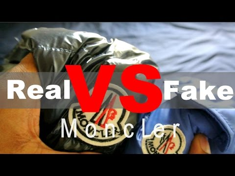moncler fake vs real