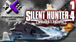 Silent Hunter 4: Wolves of the Pacific by SKS Plays - Mission 1: USS Plunger [Episode 1]