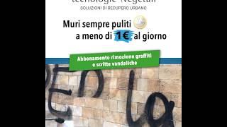Servizio Rimozione Graffitti