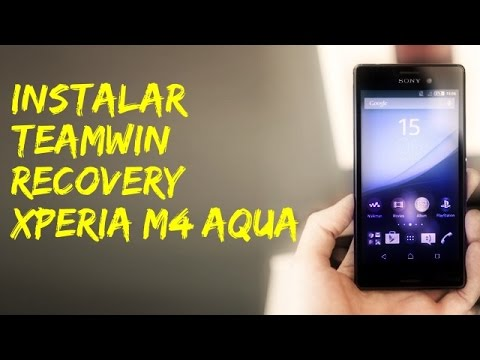 instalar recovery en Xperia m4 aqua con bootloader bloqueado