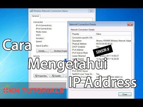 Menayangkan langkah-langkah dalam mengkonfigurasi / setting IP Address komputer agar Terhubung denga.
