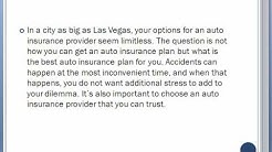 Find The Best Auto Insurance Quotes For Las Vegas Nevada
