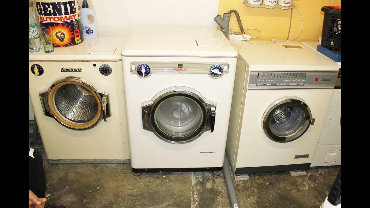 Waschmaschine constructa k4 chroma kochwäsche 95°c youtube