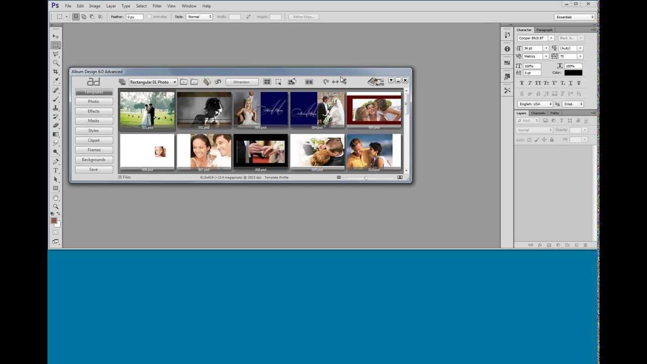 Album Design 6 Configuration - AlbumDS Smart Album Express Album Xpress
