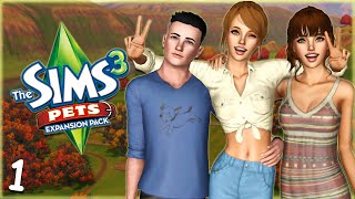 Let's Play: The Sims 3 Pets -(Part 1) Fresh Start!