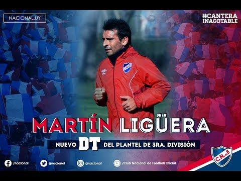 Martín Ligüera, nuevo DT de la 3ra. división