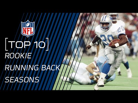 Top 10 Rookie Running Back Seasons | #TopTenTuesdays | NFL