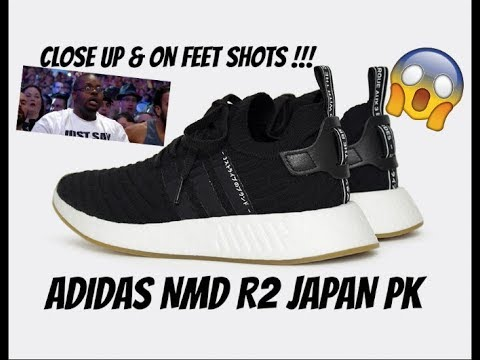 buy popular 62ad2 17e25 ADIDAS NMD R2 (JAPAN PK) CLOSE UP + ON FEET SHOTS !!!