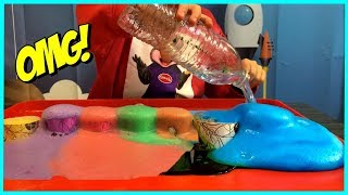BEST LEARNING COLORS for Kids Children Toddlers Video! Exploding Fizzy Science Experiment