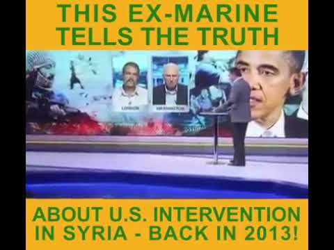 Truth about Syria: Ex-Marine