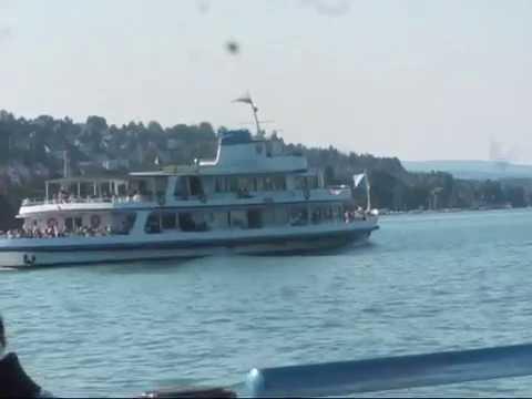 Boat cruise on Lake Zürich