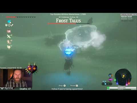 Zelda: BotW Frost Talus Miniboss