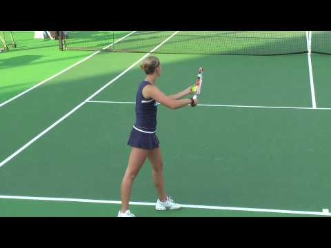01 29 2010 USC Vs SD women's tennis singles 8 of 15
