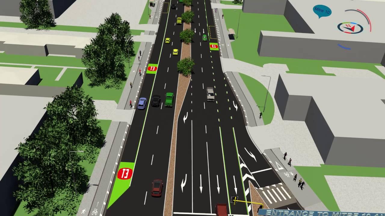 Lincoln Road upgrade