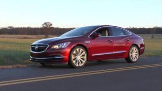 2017 Buick LaCrosse Premium Luxury Sedan Test Drive Video Review