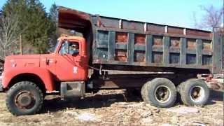 IHC R 190 6x6  dump truck video