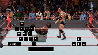 WWE 2K18 PC Controls | Part 2 (TLC)