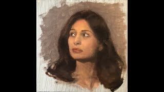 Portrait Painting Tutorial | Start-Finish & Zorn Palette