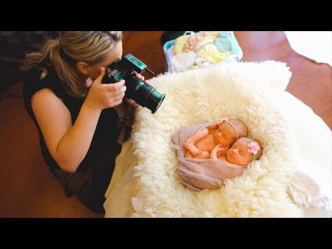 Photoshoot with ADORABLE IDENTICAL TWINS, newborn twins phot