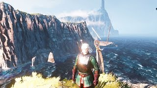 """The Witcher 3 - Finding the Pearl Diver - """"The Sunstone"""" Quest"""