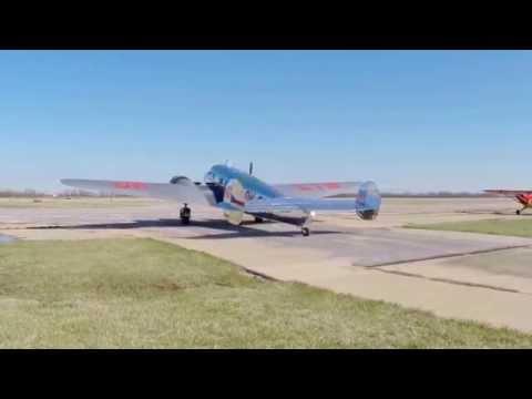 Lockheed Electra 10a - WASI 2015; Bata Shoe Company - 3 Taxi Out