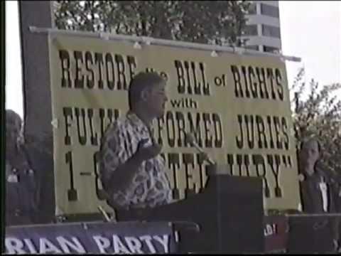 September 5, 1993 - Federal Building Rally  - Salt Lake City, Utah.