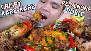 CRISPY KARE KARE AND RELYENONG PUSIT MUKBANG By Tita Yol's Kitchen