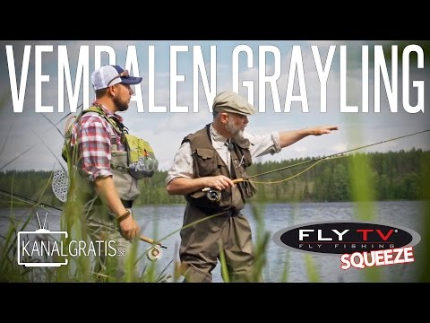 FLY TV Squeeze - Vemdalen Grayling (English Subtitles)