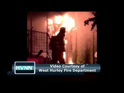 Elderly Woman Dies in West Hurley House Fire