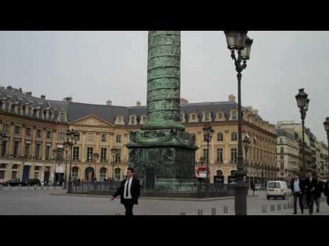 Paris, place Vendome, mars 2010