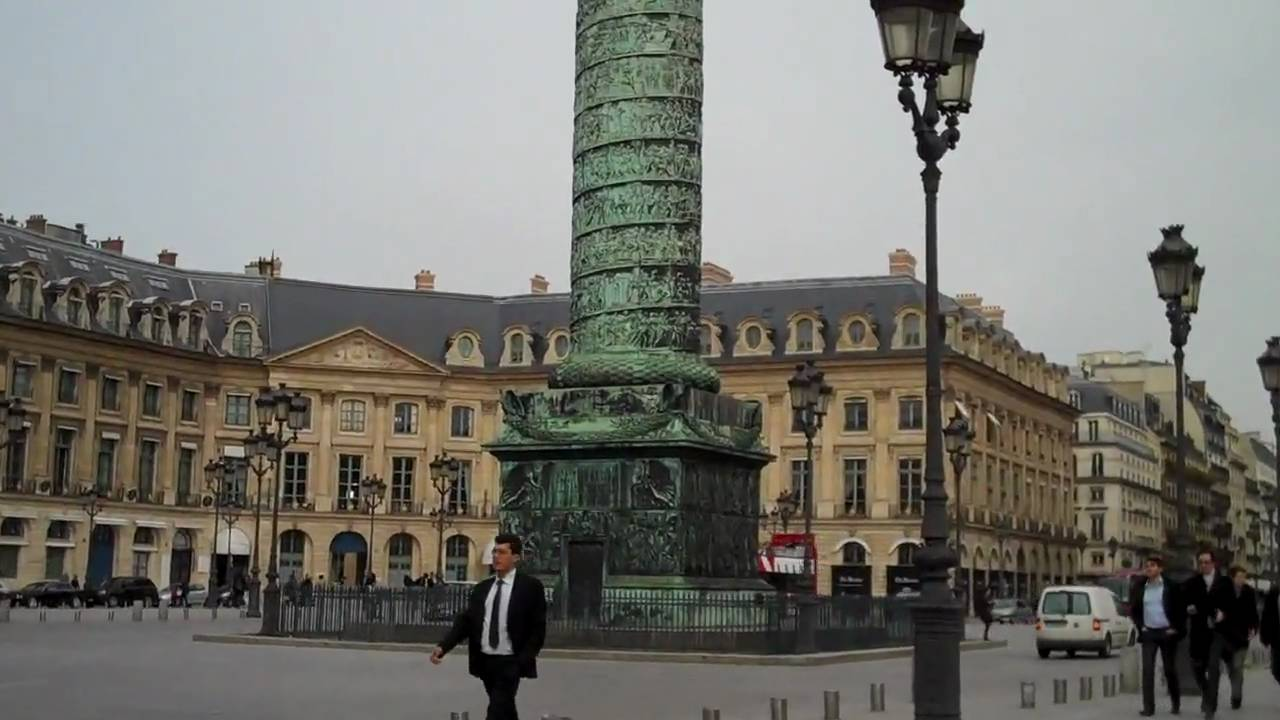 paris place vendome mars 2010 youtube. Black Bedroom Furniture Sets. Home Design Ideas