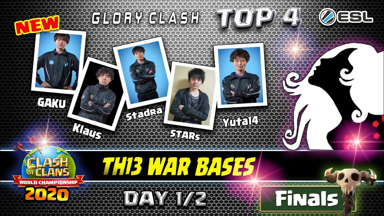 Strong*TOP 4 Queen Walkers Best Th13 War Bases/World Championship Final Day1/2/Clash of clans#669